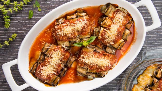 Rollitos de Berenjena Receta Italiana Fruco ®