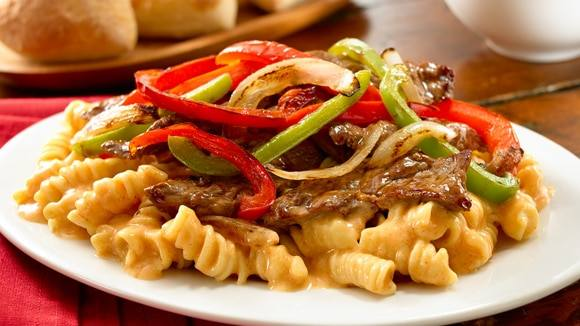 Chipotle Cheesesteak Pasta