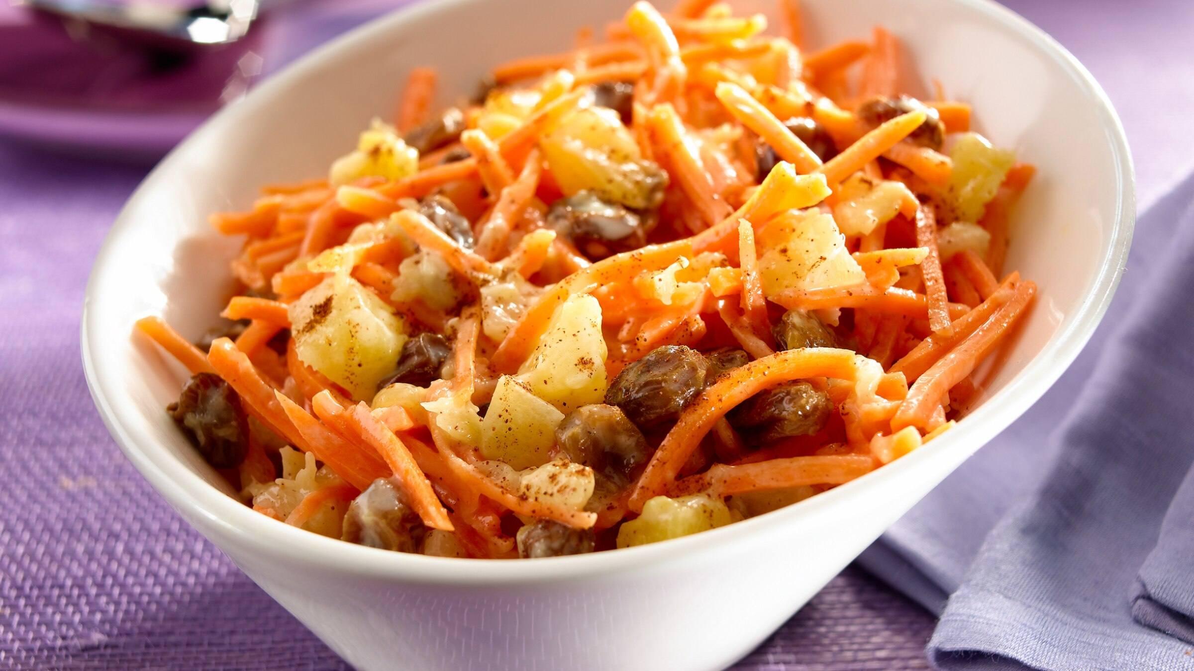 Ensalada Tropical De Pina Y Zanahoria Arroz basmati 1 aguacate 100 g de salmón ahumado piña gambas cocidas zanahoria rallada aceite vinagre y sal. ensalada tropical de pina y zanahoria