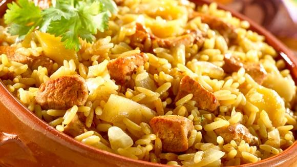 Knorr Tropical Pork Paella