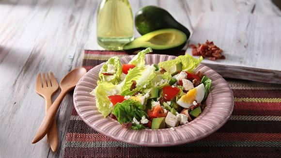 Chicken & Kesong Puti Salad Recipe