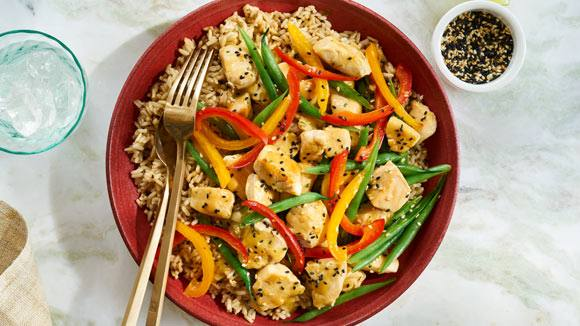 Stir Fried Mixed Vegetables with Chicken