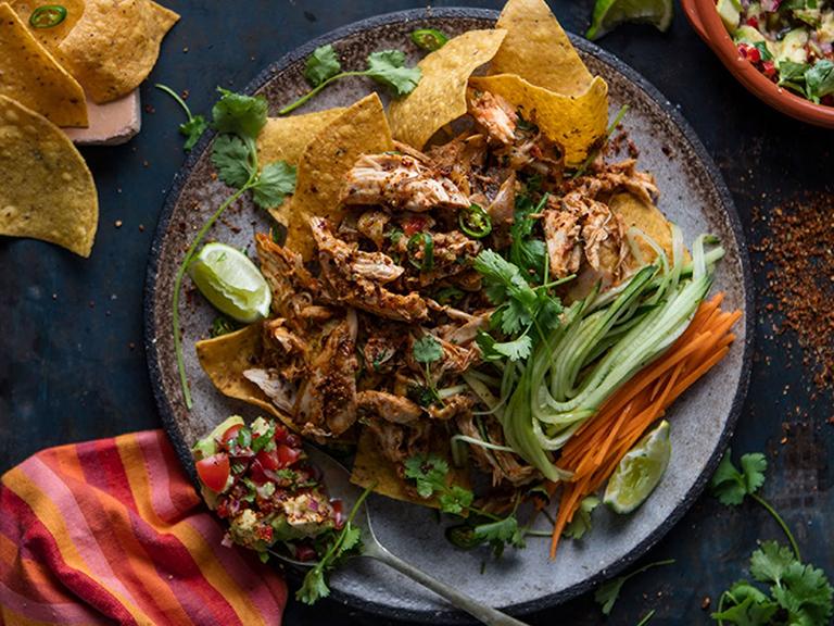 Nacho Chicken Salad