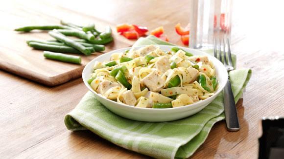 Italian Herb Chicken with Pasta
