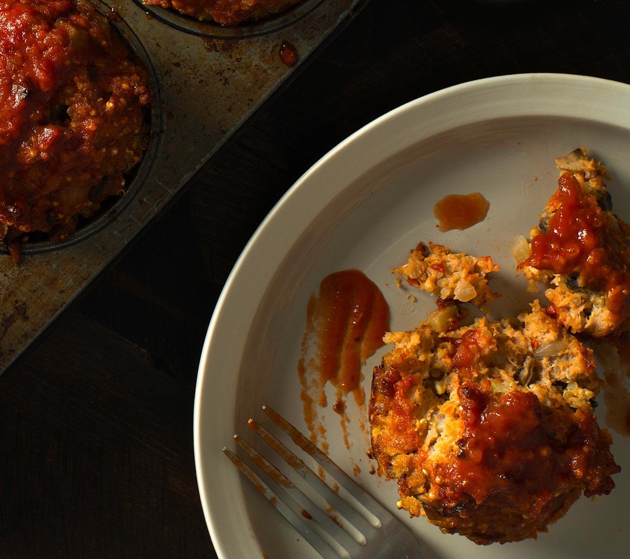 Gluten Free Turkey Quinoa Meatloaf