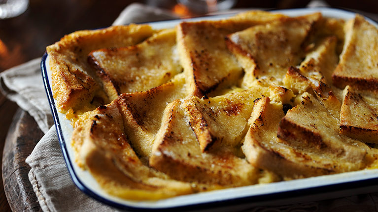 Bread & Buttery Pudding