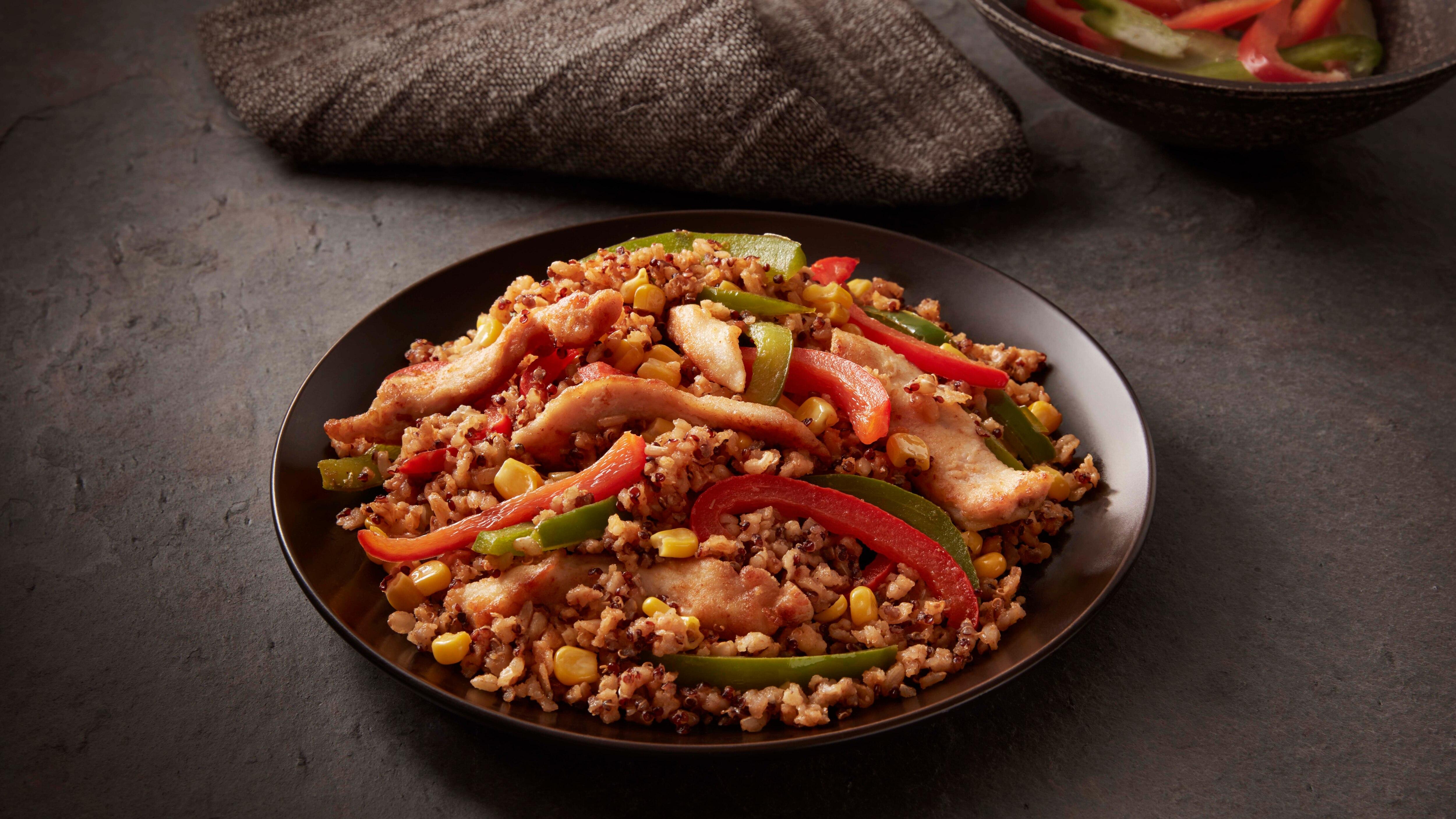 Southwestern Chicken Brown Rice & Quinoa