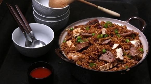 Chicken & Rice Jambalaya