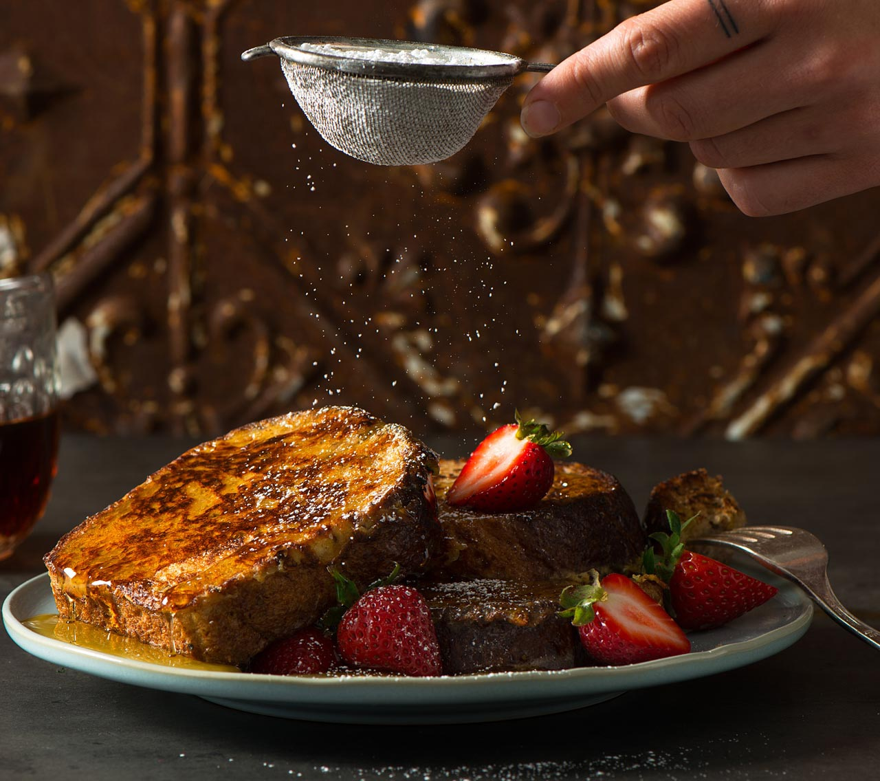 French Toast with Cinnamon & Vanilla