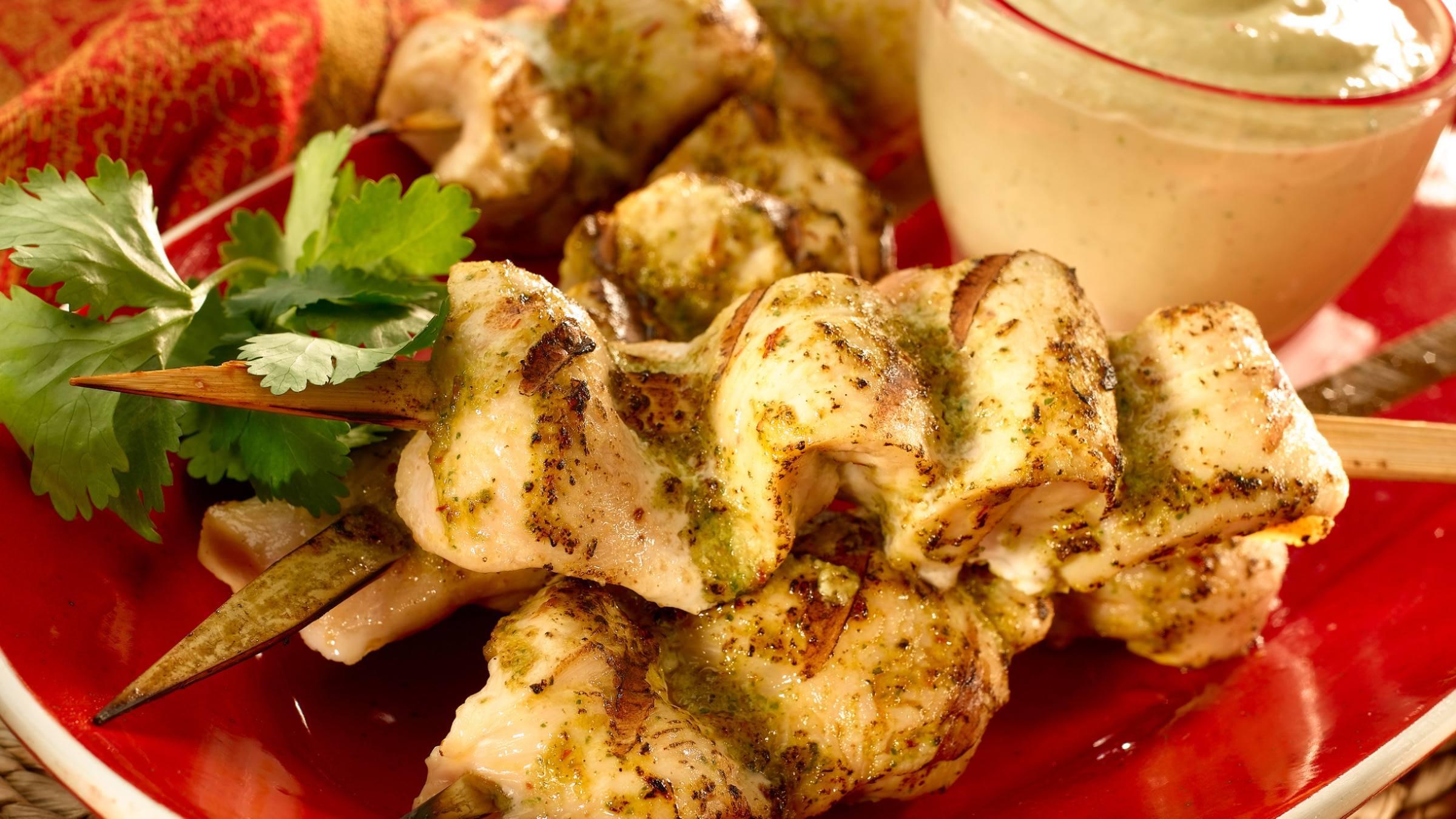 Honduran Chicken Skewers