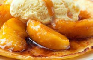 Crêpes pomme caramel au beurre salé