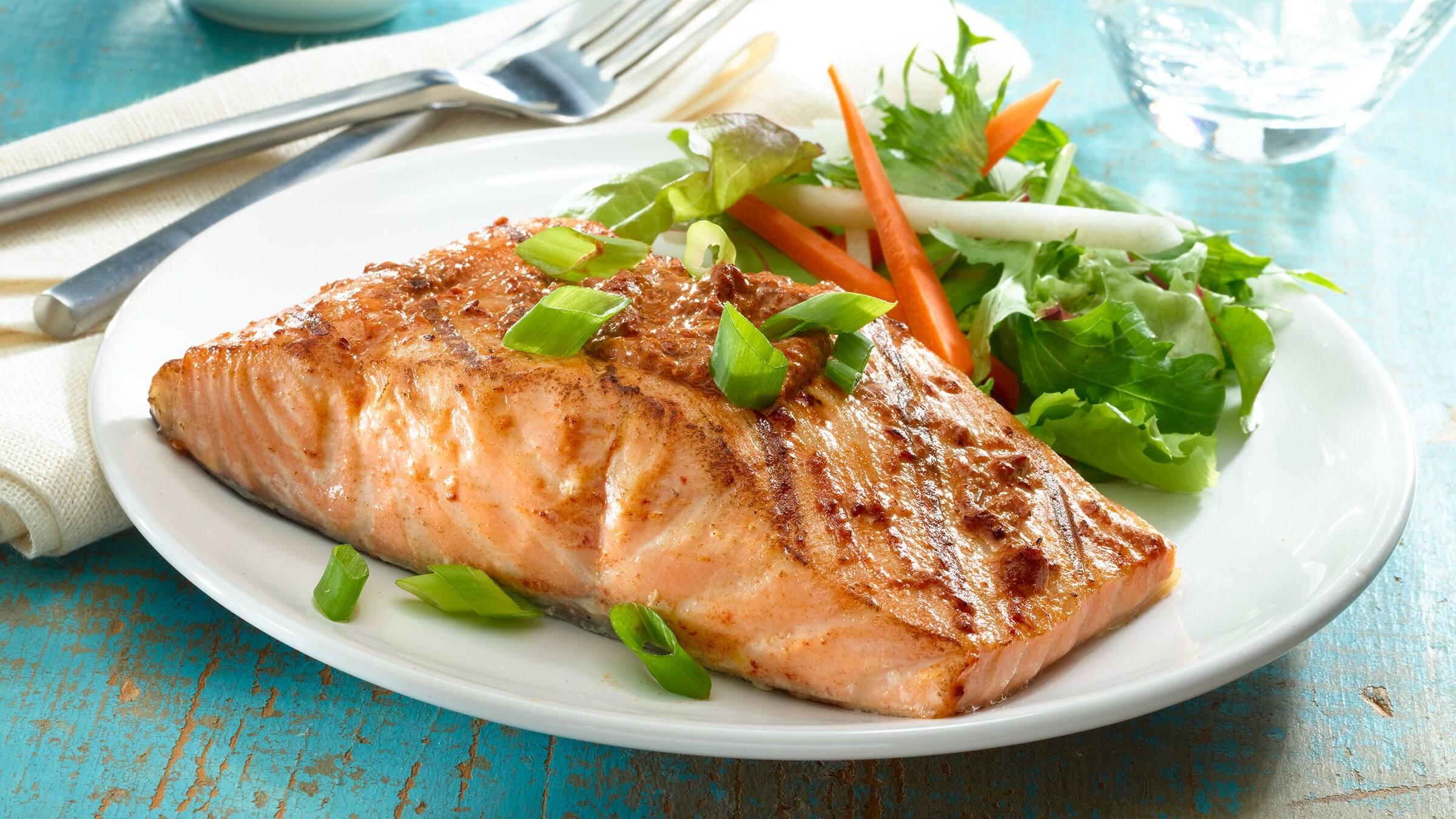 Ancho-Honey Glazed Salmon Recipe