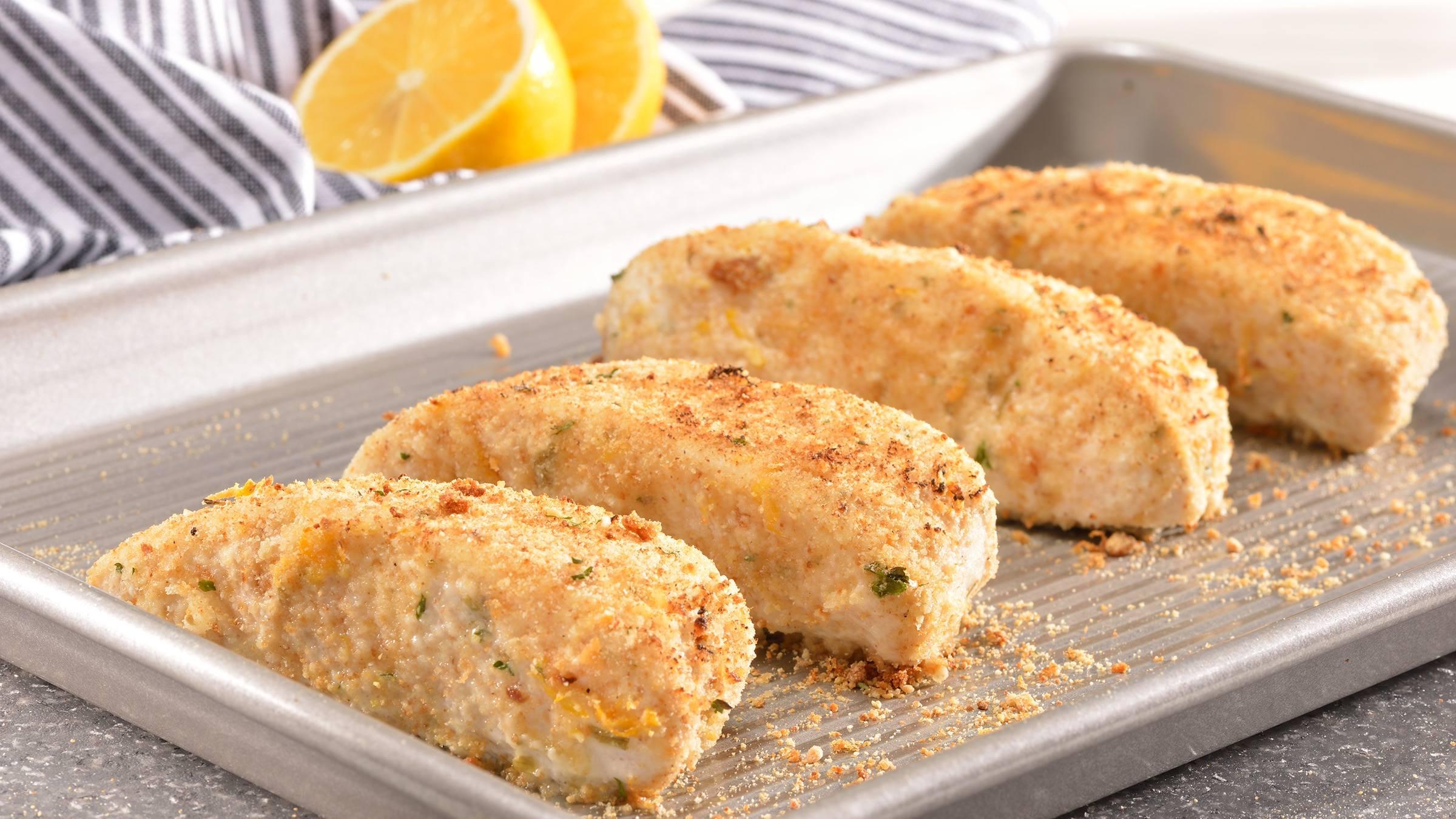 Lemon-Herb Crusted Cod