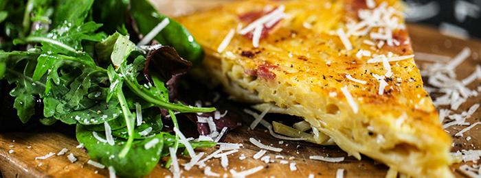 Mob Kitchen's Spaghetti Carbonara Frittata