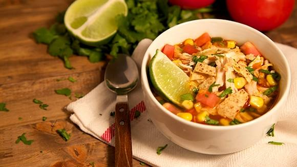 Chicken & Vegetable Tortilla Soup