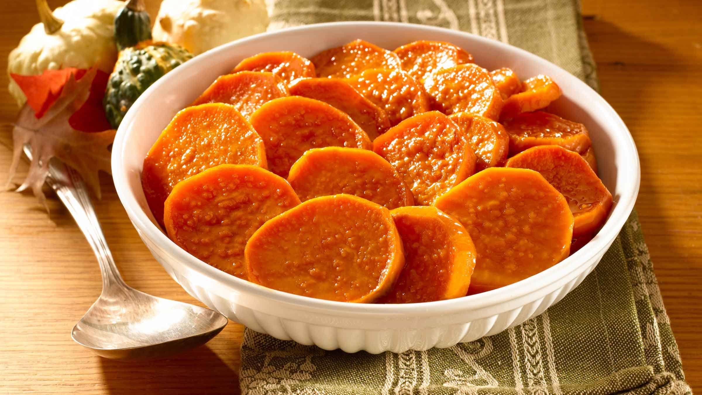 Honey-Glazed Sweet Potato Bake