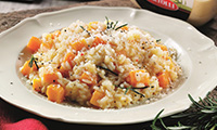 Risotto Recipe with Butternut Squash, Rosemary and Chilli