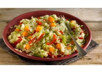 Arroz con vegetales - Arroz con pescado y verduras ...