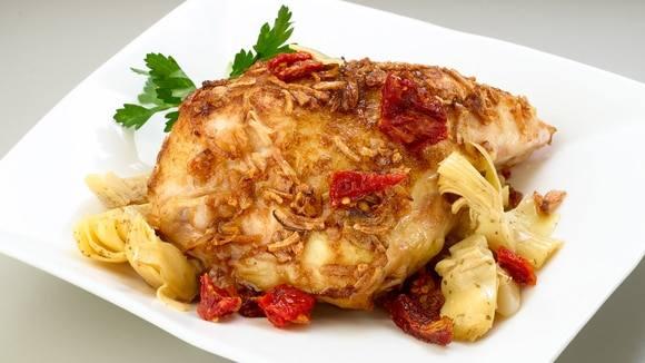 Sun-Dried Tomato Artichoke Chicken
