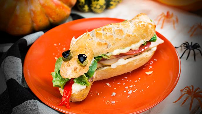 Sandwich con Mayonesa Fruco Halloween