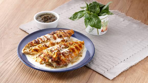 Grilled Chicken Pesto Recipe