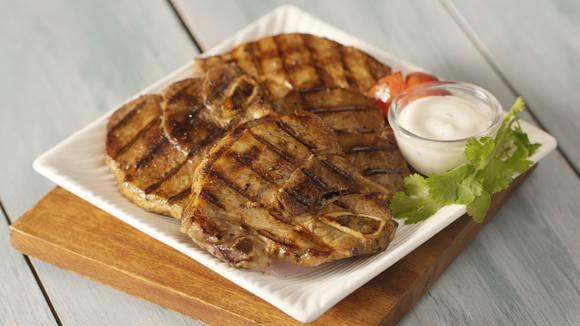 Grilled Pork Chops with Sinigang Rub Recipe