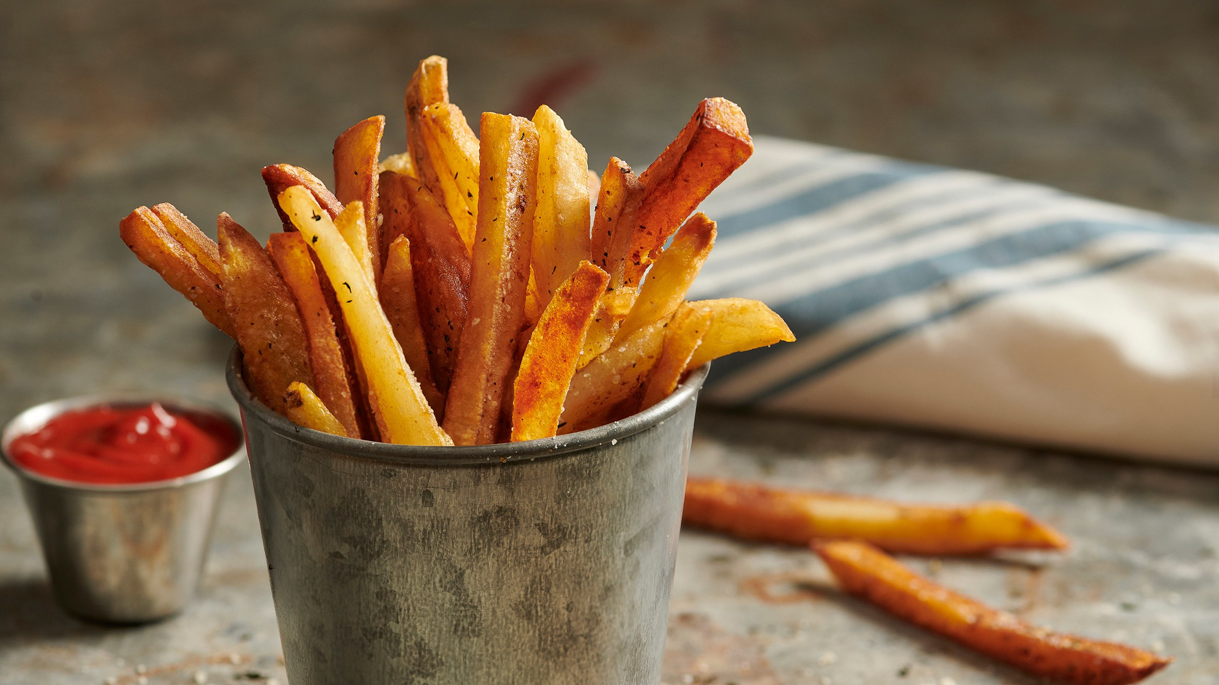 Easy Homemade French Fries