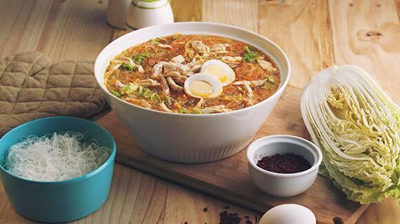 Pang-relax Chicken Sotanghon Soup
