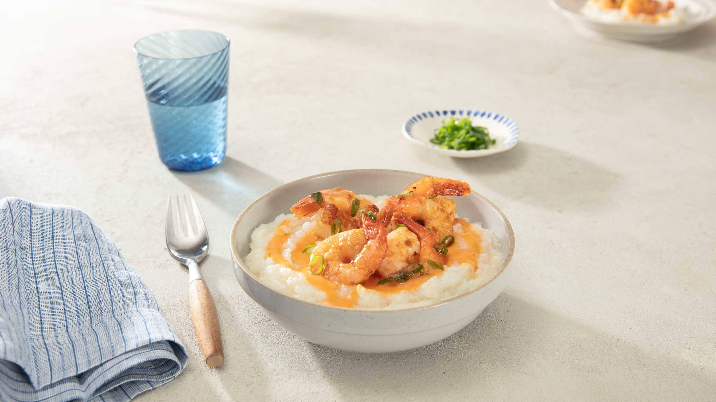 Chili Honey Shrimp & Grits