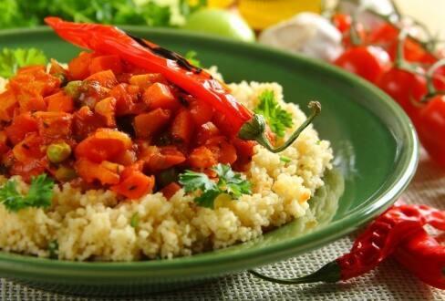 Knorr - Gemüsetagine mit Couscous