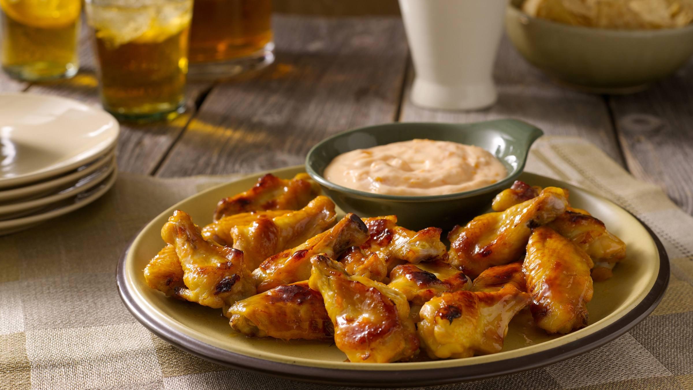 Hot & Sweet Chicken Wings