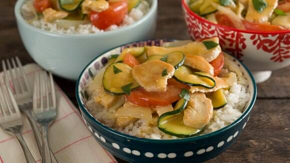 Citrus Chicken Stir Fry