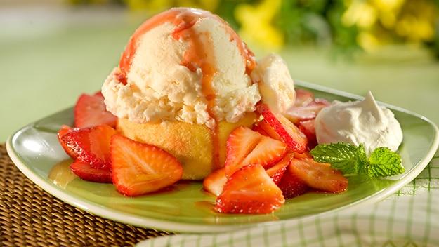 Tartelettes de Crème Glacée aux Fraises