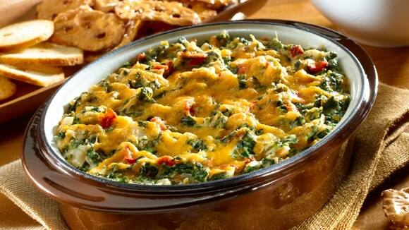 Hot Cheesy Spinach Dip Knorr Us
