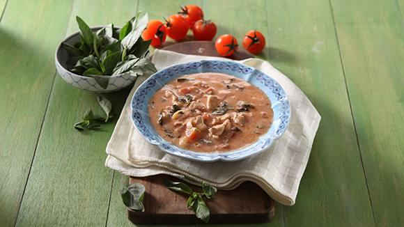 Chicken Chorizo Tomato Gata Recipe