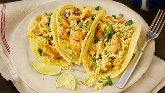 Chili-Lime Chicken Tacos
