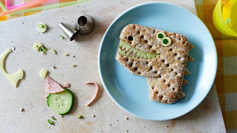 Ty Ham Asaurus Rex Sandwich