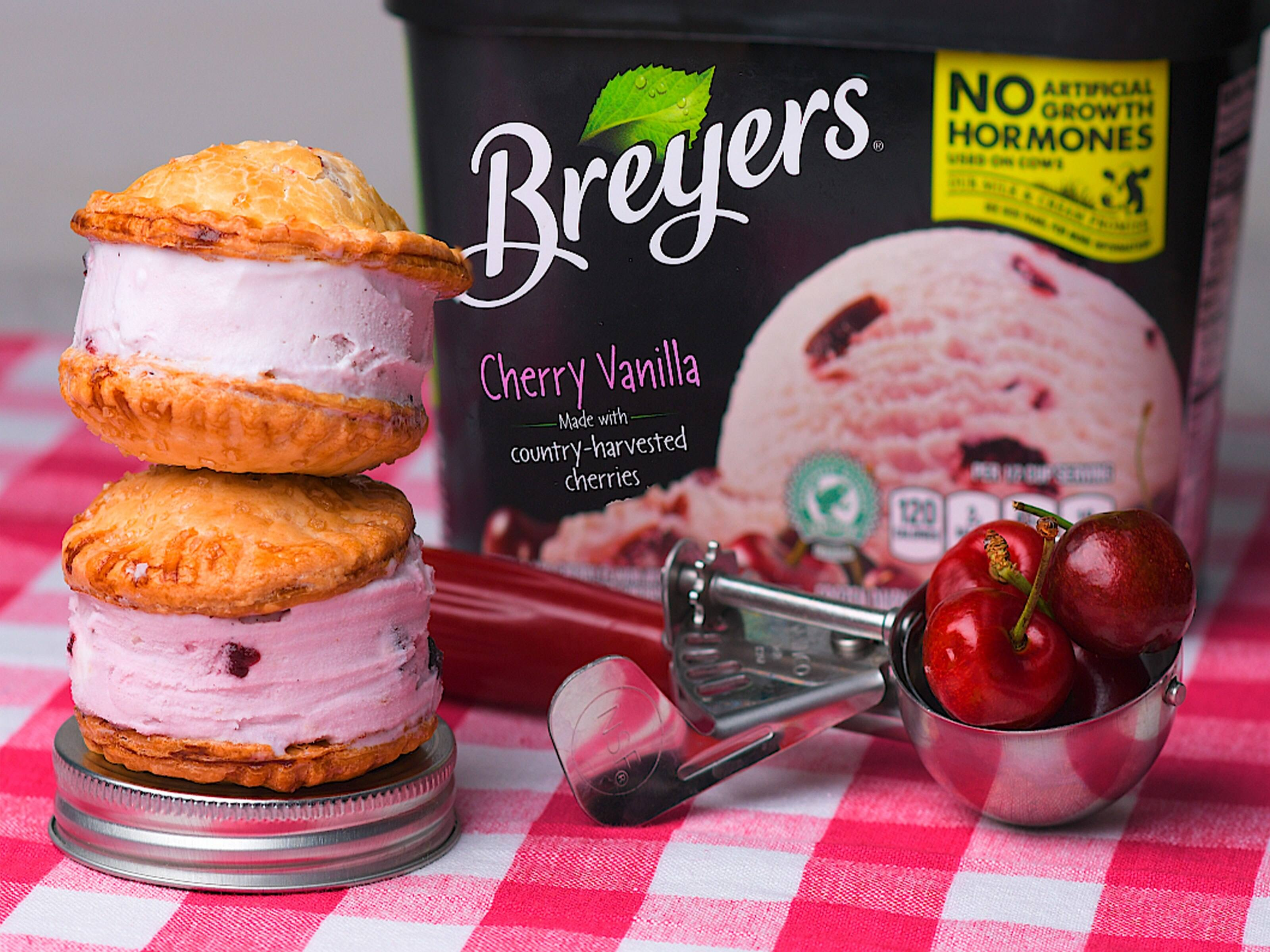Cherry Pie à la mode On-The-Go Recipe