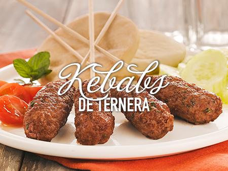 Kebabs de ternera con un toque de Savora