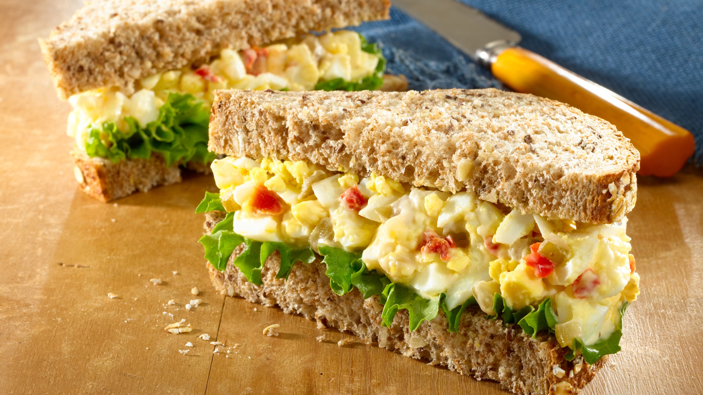 Tuna egg salad sandwich for Tuna and egg sandwich
