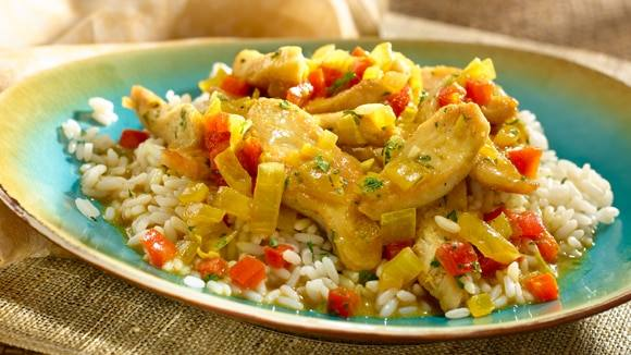 Chicken & Coconut Curry Saute