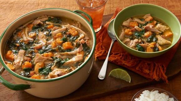 Callaloo Chicken Stew