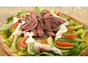 Chayote & Skirt Steak Salad
