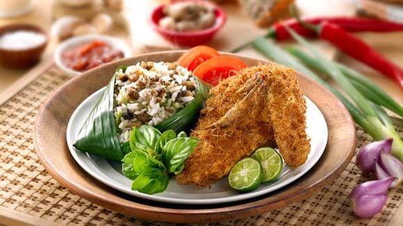 Ayam Goreng Nasi Tutug Oncom