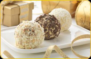 Rochers vanille chocolat coco