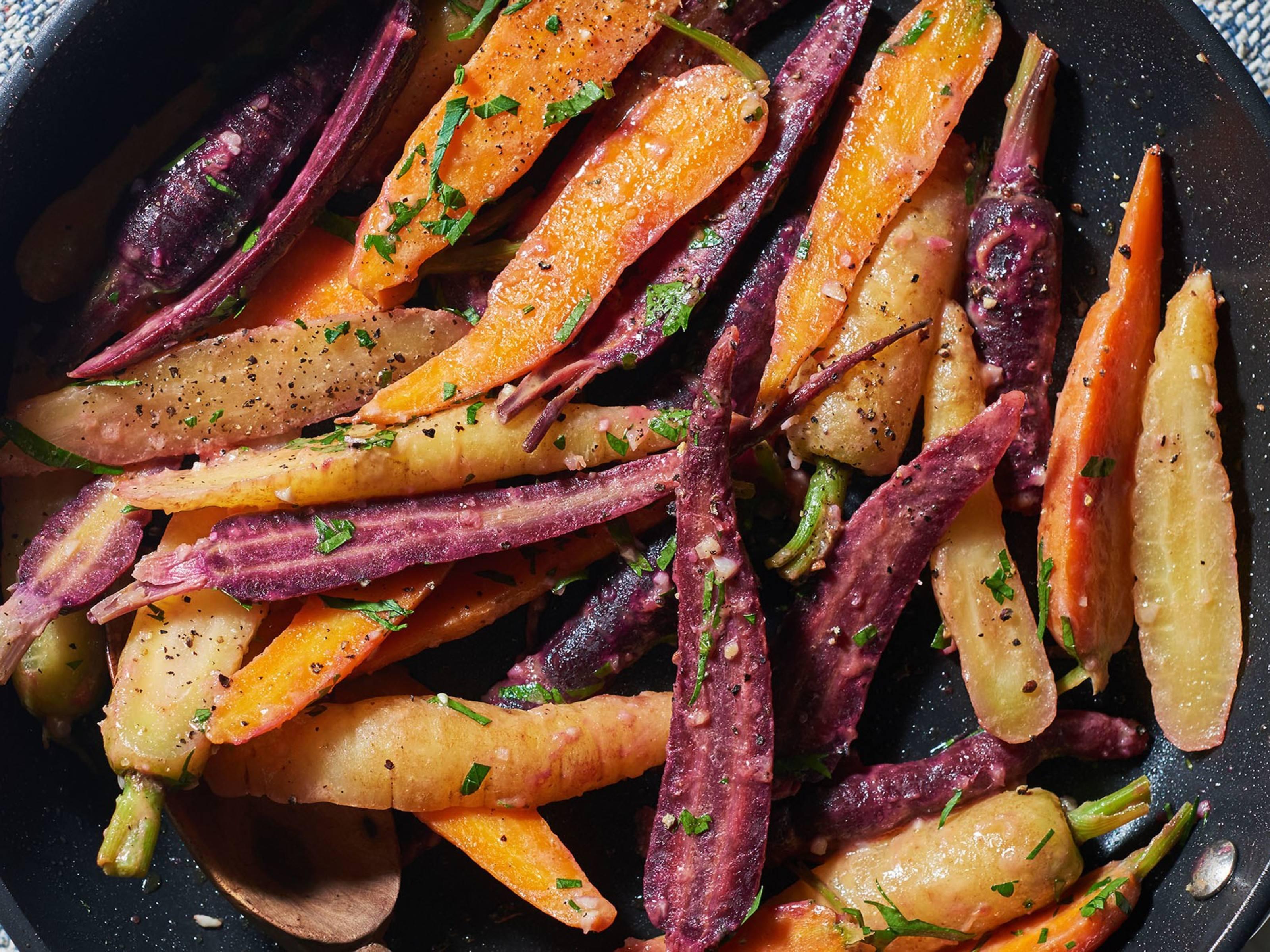 Honey Dijon Carrots