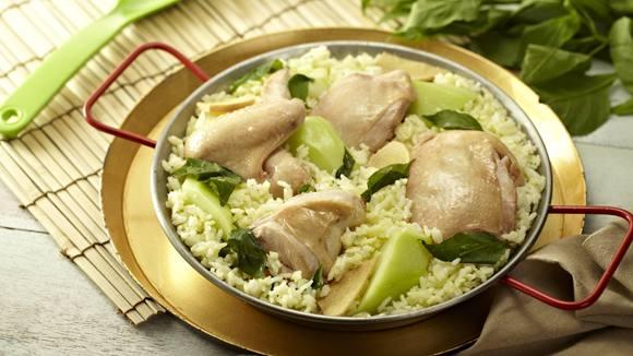 Paella Tinola Recipe