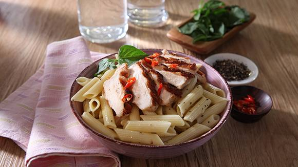 Grilled Chicken Pasta Recipe