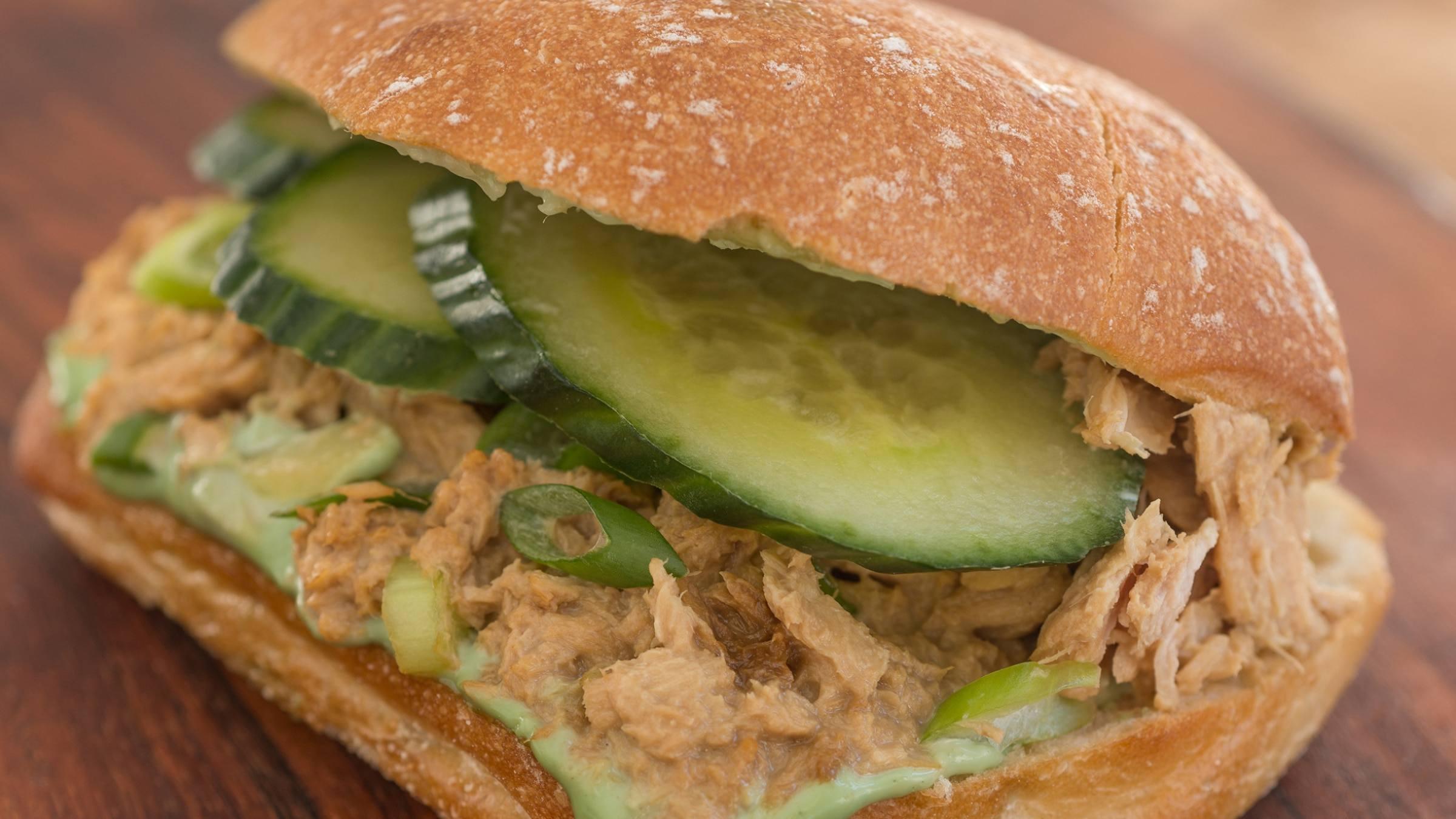 Cool Tuna Hot Wasabi Strangewiches
