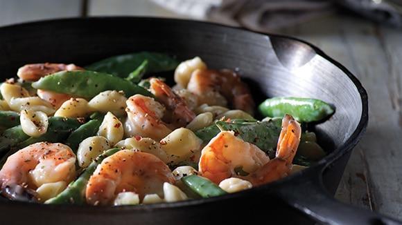Shrimp Raffaello Skillet